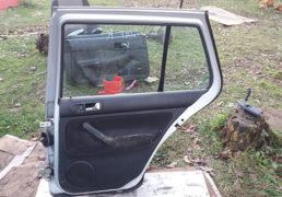 Дверка задня права VW Golf 4, сірий колір. Львів