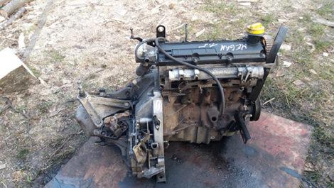 Двигун Renault Megane 2 1.5