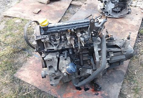 Мотор Renault Megane 2 1.5