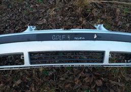 Передній бампер сірий Фольцваген Гольф 4