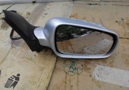 Зеркало електричне сіре праве Гольф 4