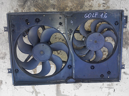 Вентилятор радіатора з моторчиком(малий) VW Golf 4 1.6