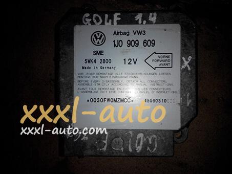Блок керування AirBag VW Golf 4 1J0-909-609