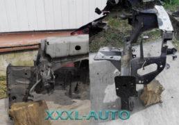 Передня ліва чвертка (лонжерон) Renault Megane II, чорний колір